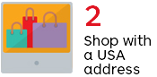 Shop with a USA address